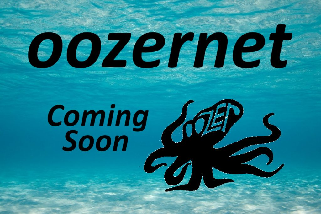 Oozer the Octopus in a seascape